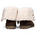 Timberland Shearling Fold Boot - естествена кожа - ЛИКВИДАЦИЯ